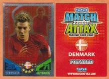 Denmark Nicklas Bendtner Arsenal 53 Star Player